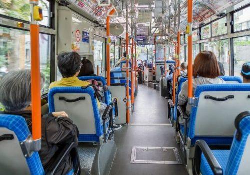 accidente en el autobús